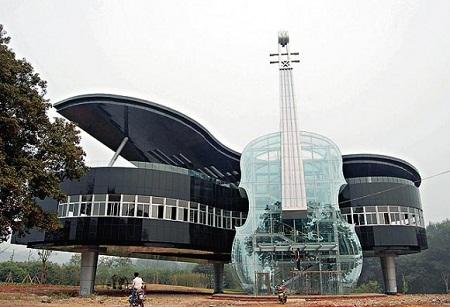 Những công trình kiến trúc độc đáo thế giới