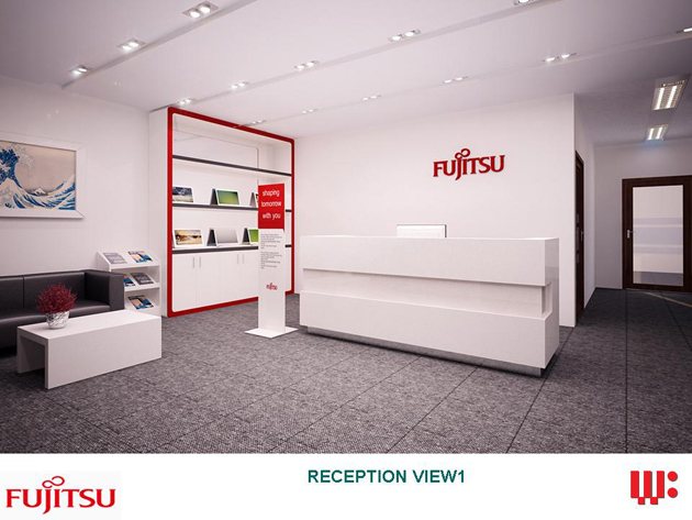 Work-Wonders thiết kế và thi công Văn phòng FUJITSU Việt Nam