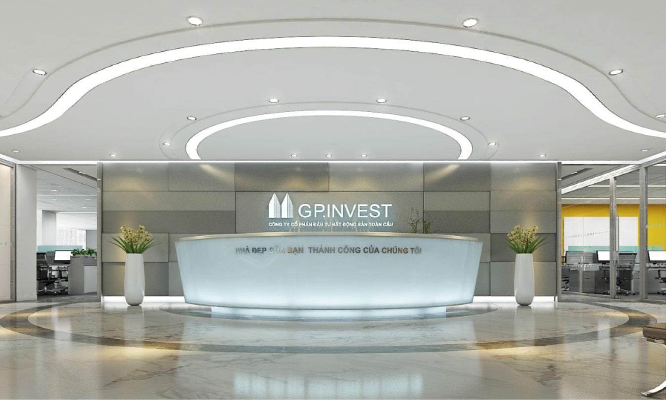 thiết kế văn phòng GP Invest