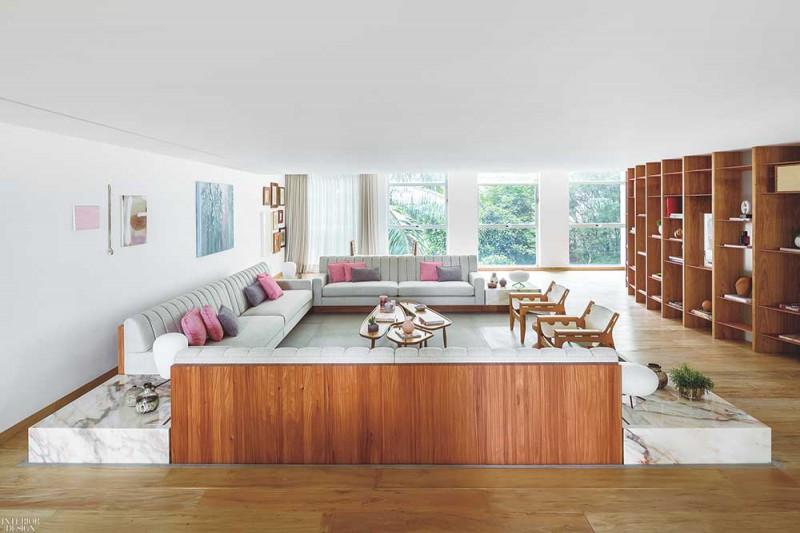 Ghế sofa được thiết kế riêng cho không gian phòng khách và phòng đọc sách