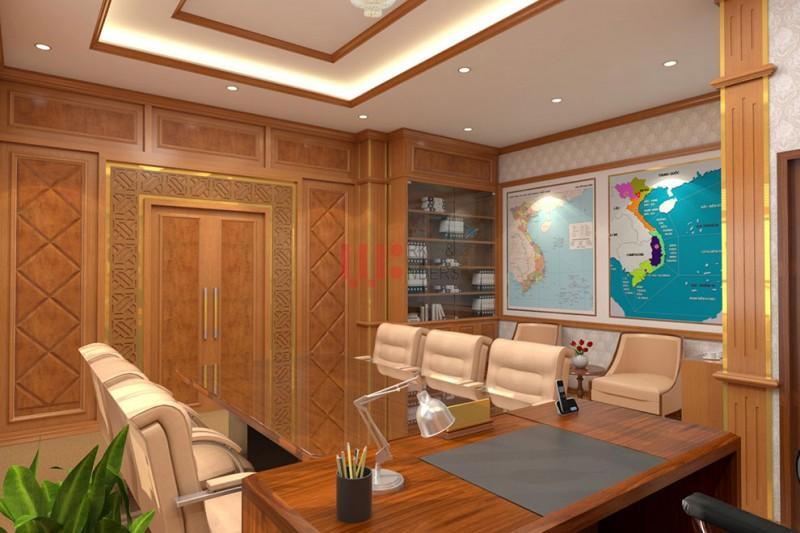 Không gian nội thất phòng lãnh đạo