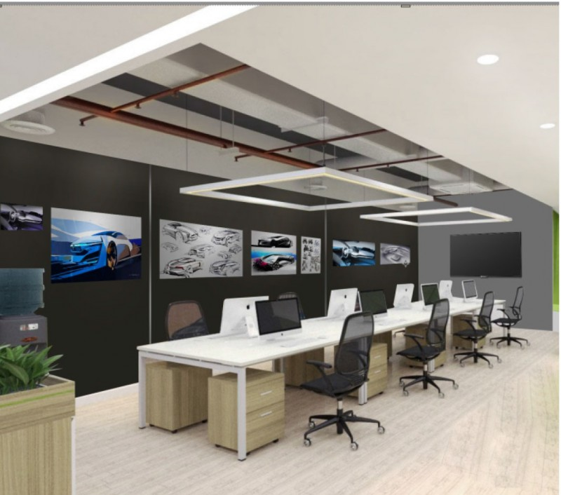 work & Wonders thiết kế văn phòng Vinfast Office