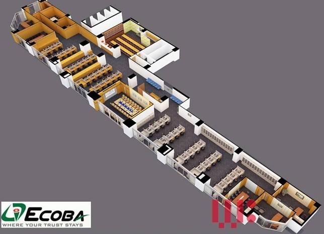 Thiết kế thi công văn phòng Ecoba