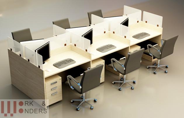 Work- Wonders thiết kế và thi công văn phòng Thiên Hòa An