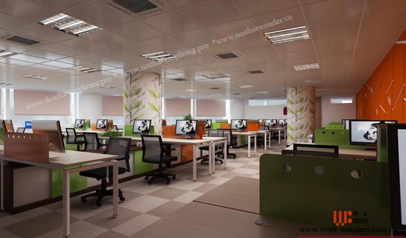 Work-Wonders tư vấn thiết kế văn phòng hiện đại