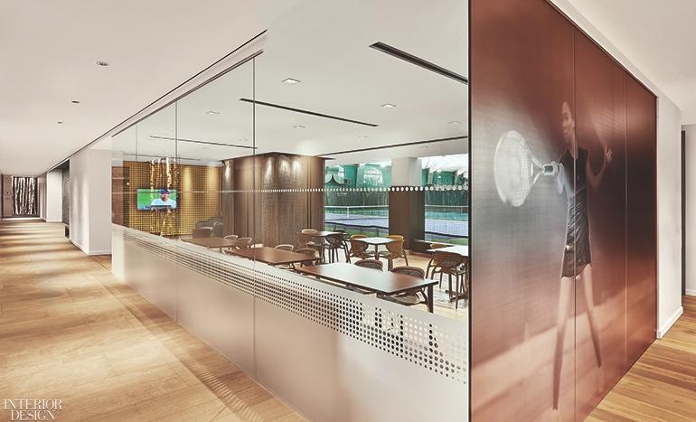 Thiết kế nội thất câu lạc bộ thể thao
