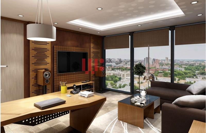 Thiết kế văn phòng VTC tầng 6
