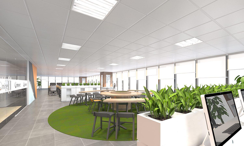 Thiết kế văn phòng công ty Ominext Việt Nam