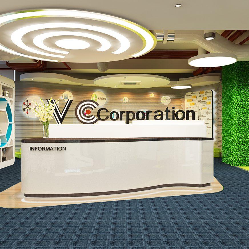 Thiết kế văn phòng VC Corporation