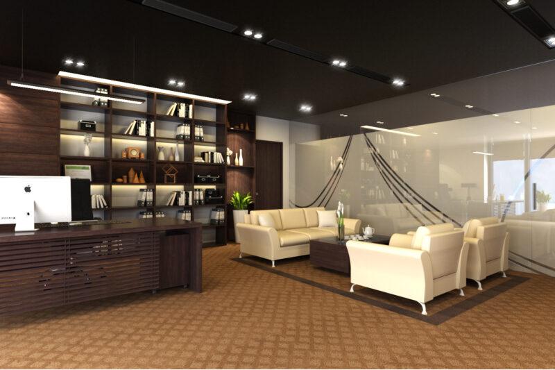 Thiết kế nội thất phòng giám đốc thẩm mỹ