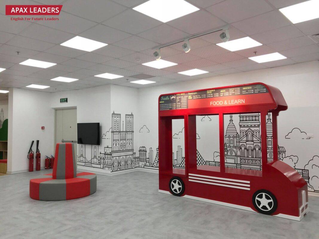 Work & Wonders thiết kế nội thất trung tâm anh ngữ Apax Leaders
