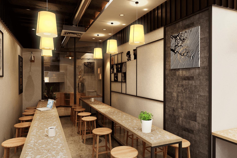 Thiết kế pantry của văn phòng Tân Long
