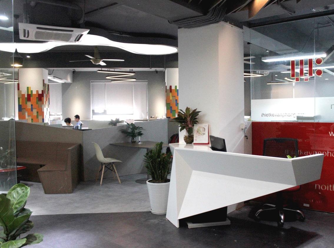 Thiết kế nội thất văn phòng công ty TNHH Kiến Tạo Và Kiệt Tác