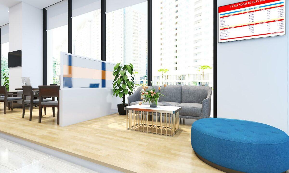Xu hướng thiết kế văn phòng cây xanh