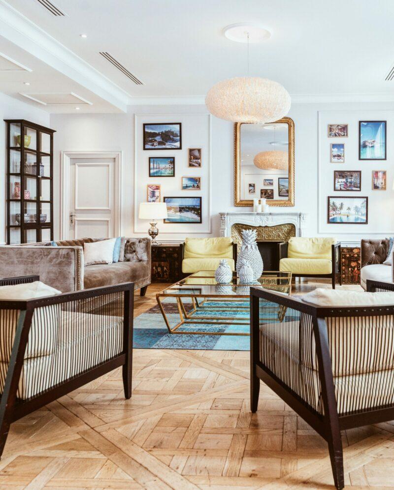 Các mẫu nội thất phòng khách biệt thự đẹp