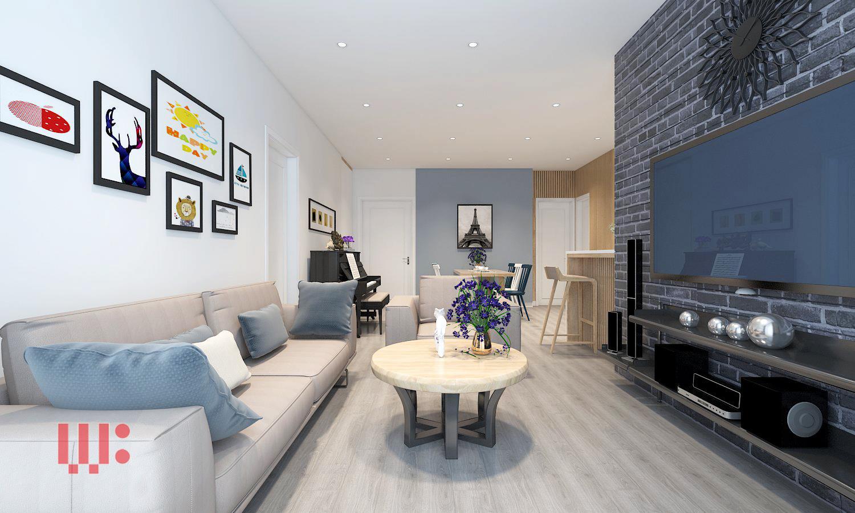 Tư vấn thiết kế chung cư cho căn hộ diện tích 100m2