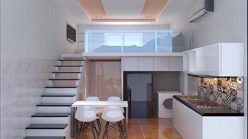 Thiết kế nội thất thông minh cho nhà ở chật