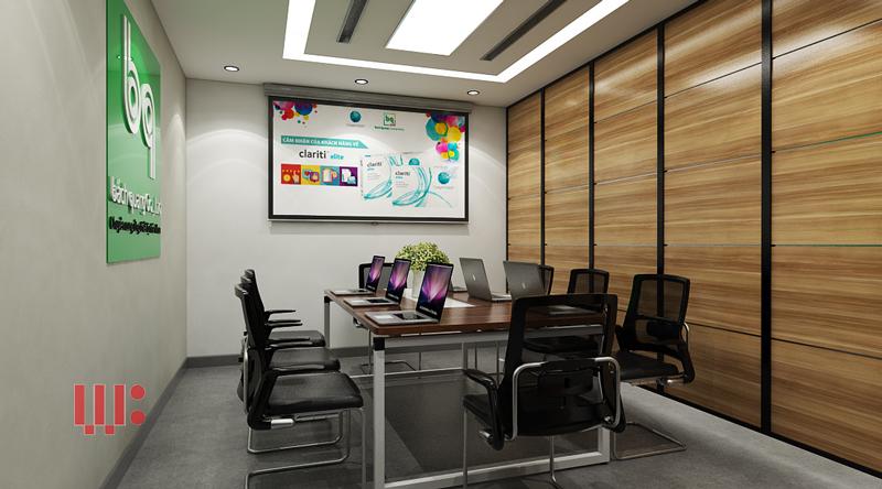 Mẫu thiết kế văn phòng công ty nhỏ và đẹp