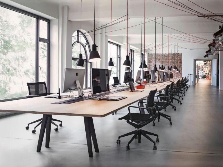 Thiết kế nội thất văn phòng quận Tân Phú theo phong cách tối giản