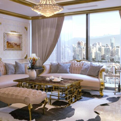 Thiết kế nội thất biệt thự phong cách tân cổ điển