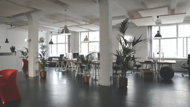 Thiết kế văn phòng quận 7 với không gian xanh tươi mát