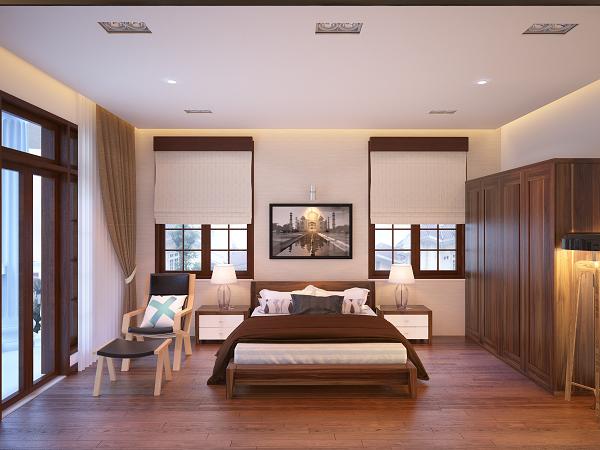 Gỗ óc chó trong thiết kế nội thất chung cư