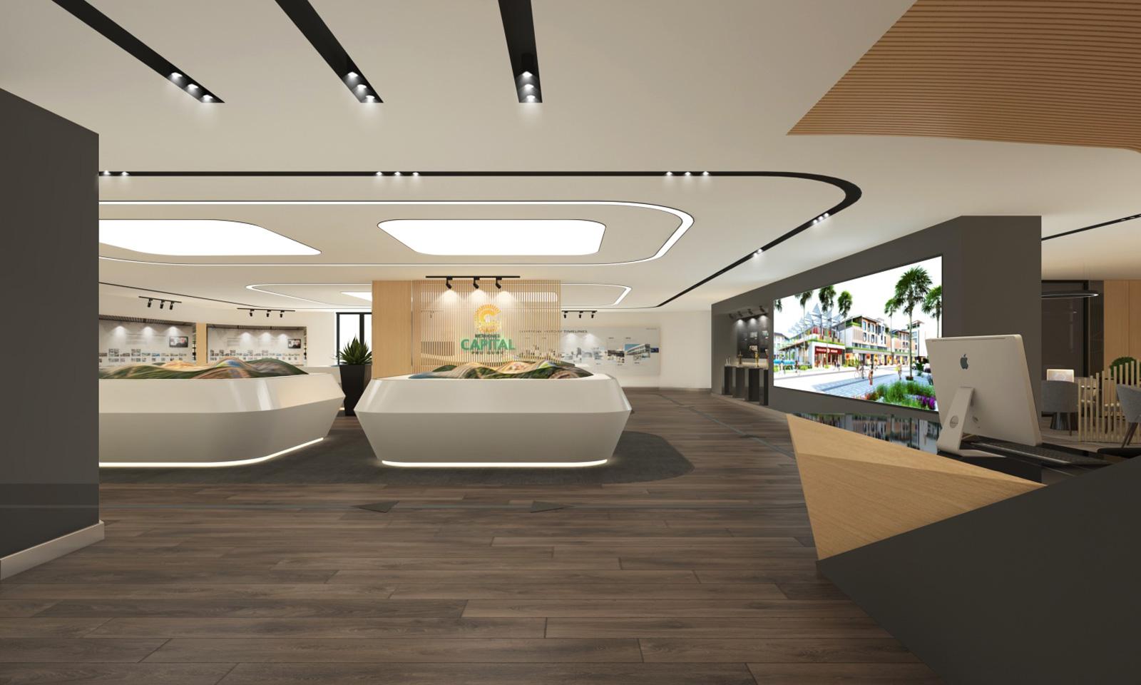 Thiết kế showroom Meyland