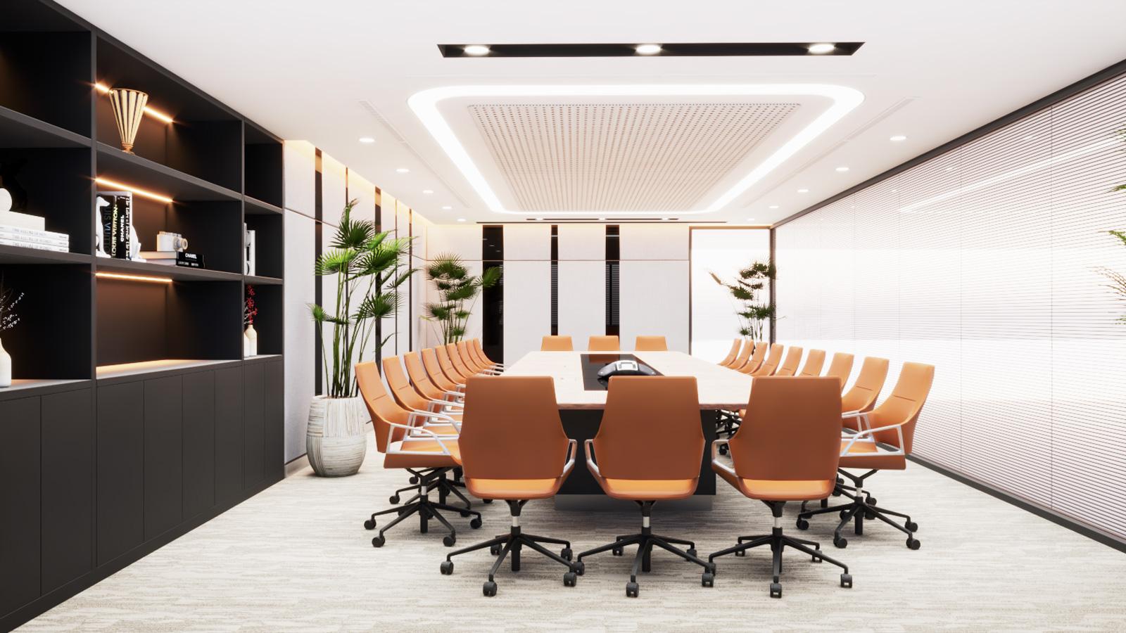 Thiết kế phòng họp showroom Meyland