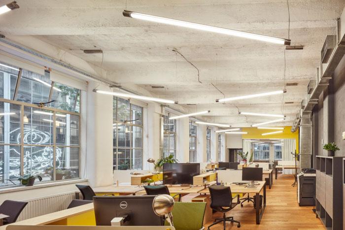 Thiết kế văn phòng coworking hiện đại và đầy đủ công năng