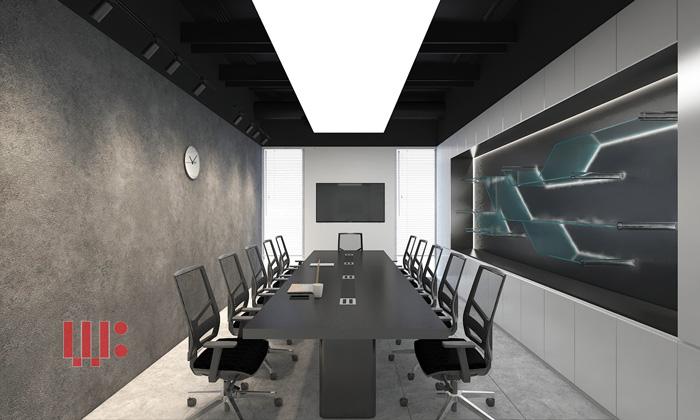 2 mẫu thiết kế văn phòng màu trung tính ấn tượng và hiện đại