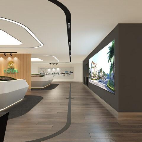 Thiết kế nội thất showroom Meyland