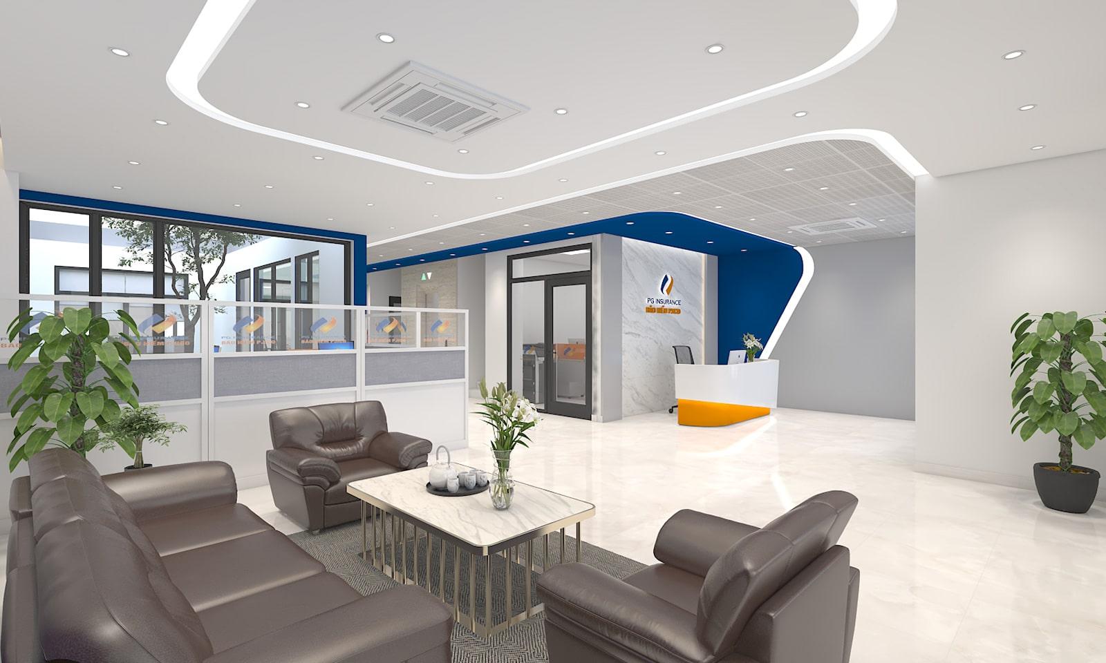 Thiết kế văn phòng PJICO - Văn phòng lấy cảm hứng từ thương hiệu