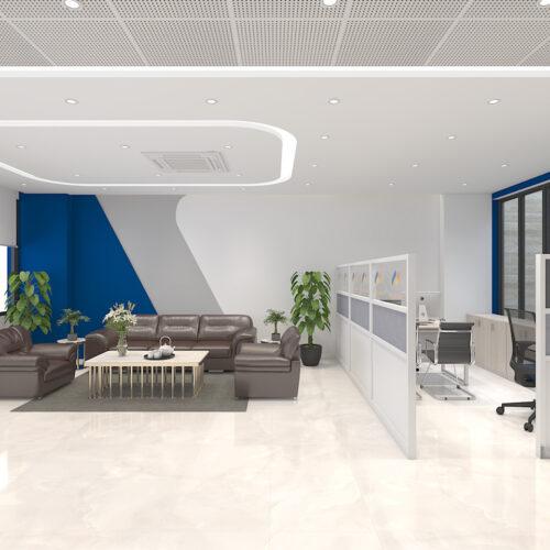 Thiết kế văn phòng PJICO – Văn phòng lấy cảm hứng từ thương hiệu