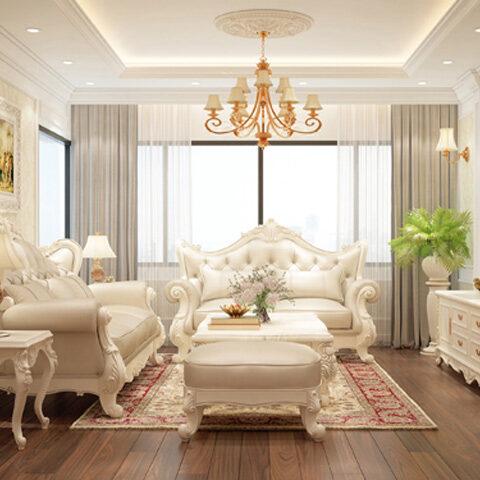 Thiết kế nội thất phong cách tân cổ điển đẹp
