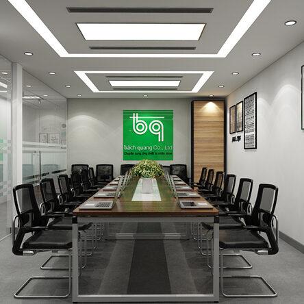 Mẫu thiết kế văn phòng công ty nhỏ đẹp mê ly