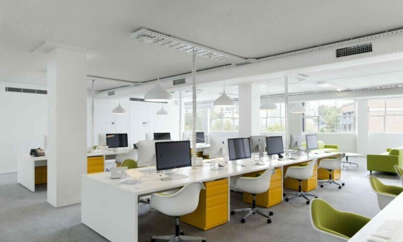 Văn phòng hiện đại lựa chọn tốt nhất cho doanh nghiệp