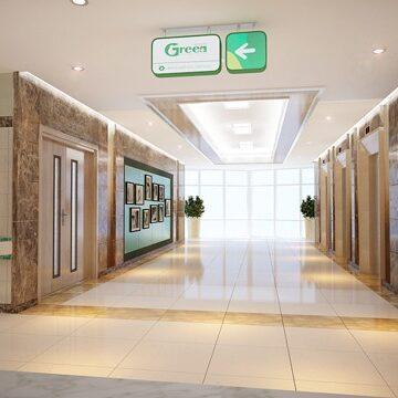 Thiết kế nội thất bệnh viện Hải Phòng