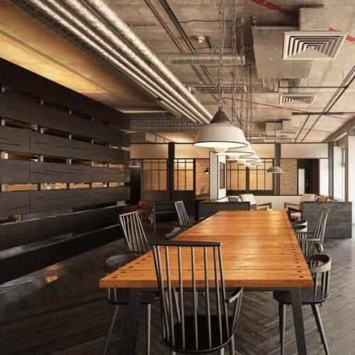 Thiết kế đồ gỗ nội thất văn phòng và những lợi ích mang lại