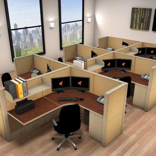 Thiết kế nội thất cho văn phòng nhỏ diện tích 15m2, 30m2 và 50m2