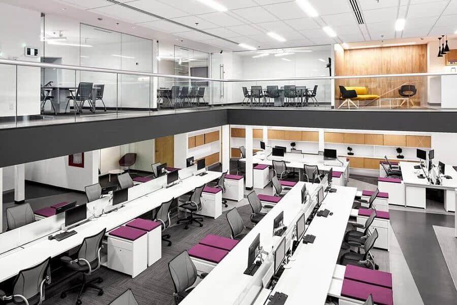 Thiết kế nội thất văn phòng mang lại lợi ích quảng bá hình ảnh thương hiệu