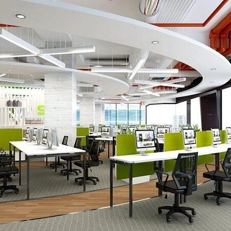 Thiết kế nội thất văn phòng làm việc đẹp và hiện đại với 7 bí quyết hữu ích