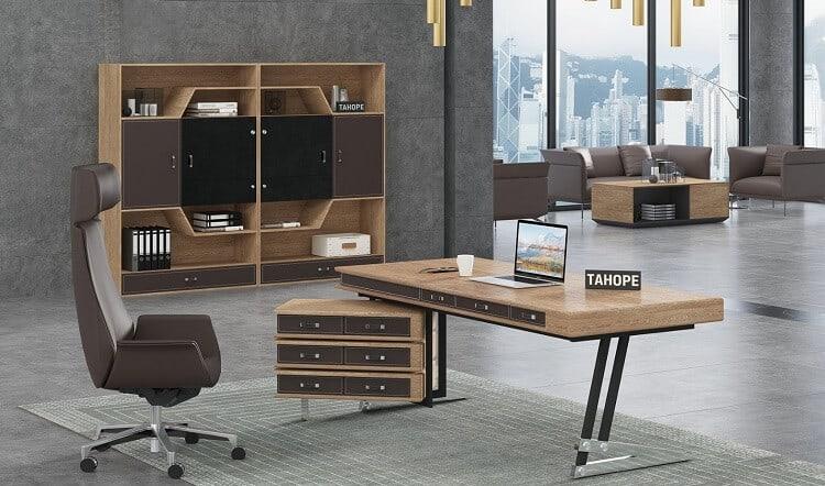 Thiết kế mẫu phòng làm việc của giám đốc đẹp và chuyên nghiệp