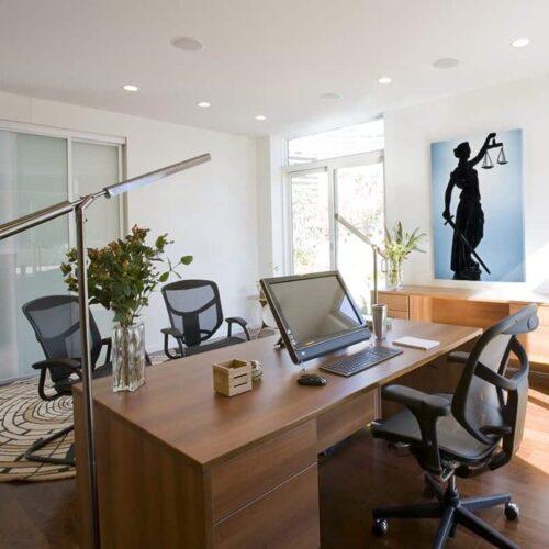 Tư vấn thiết kế nội thất văn phòng luật sư đẹp chuyên nghiệp