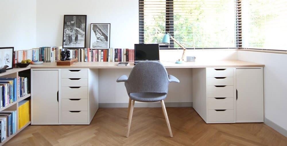 Tận dụng ánh sáng tự nhiên khi thiết kế văn phòng làm việc tại nhà