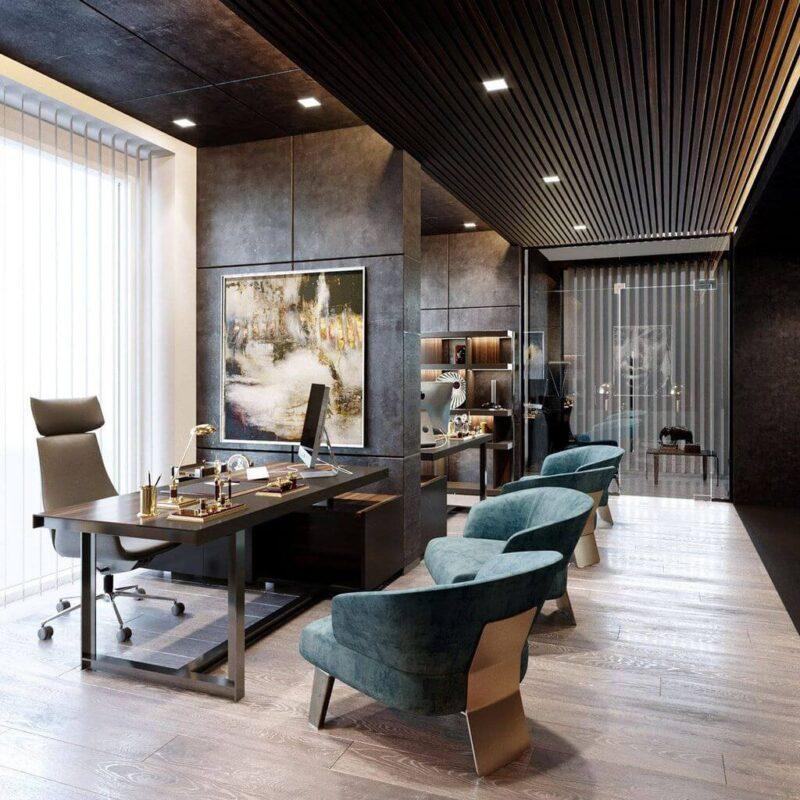 Thiết kế nội thất văn phòng phong cách đương đại như thế nào?